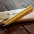 Beeswax Birthday Candles Hand Dipped 10 Pack
