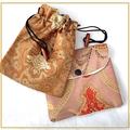 Natural PICASSO JASPER, Orange Malachite Pendant in Leather Cord Necklace.