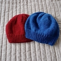 *Special * 2 beanies: (1-3 yrs): Washable, unisex