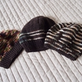 *Special * 3 beanies: (1-3 yrs): Washable, boy