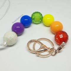 Lanyard // Chakra // Teacher // FOB // Keychain // Rainbow // Free Aus shipping