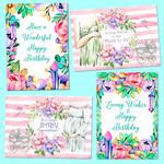 Mums to Be_Birthday DIY Card Kit Printables