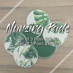 Nursing Pads (Set of 3) | Washable Breast Pads | Reusable Ecofriendly Cloth En