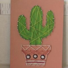 Cactus String Art 005