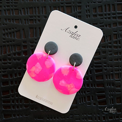 Power Pink earrings