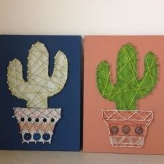 Cactus String Art 008