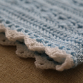 Hand Crochet, Vintage Style, Simply Stunning Baby Blanket