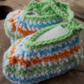 """crochet baby shoes """"dancing feet"""" cotton and cotton blend 9-10cm foot ON SALE!!!"""