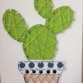 Cactus String Art 007