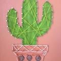 Cactus String Art 006