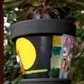 Mosaic Flower Pots - Planter pots - Owl