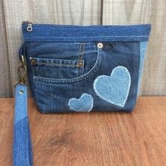 Upcycled Denim Pocket Pouch