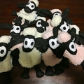 Cute Lamb Security Blanket