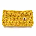 Crochet Cowl in Mustard