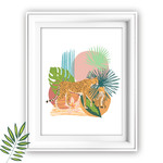 Into the Wild Leopards DIY Wall Art Printable