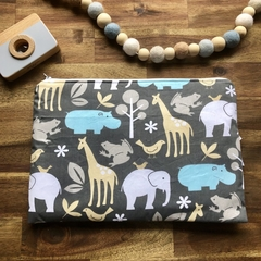 Nappy Wallet - Clutch -Makeup - Animals - Baby Girl Boy Unisex