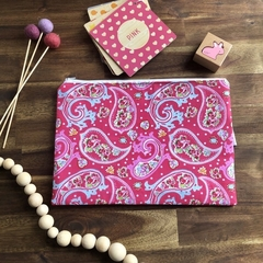 Nappy Wallet - Clutch -Makeup - Paisley - Baby Girl