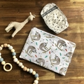 Nappy Wallet - Clutch - Sloth - Girl Boy Unisex