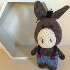 Bernard the Donkey - Crocheted Toy