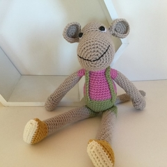 Marina the Monkey - Crocheted Toy