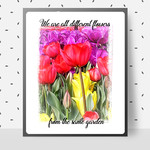 We are all different DIY Wall Art Printable