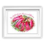 In a Field of Roses DIY Wall Art Printable