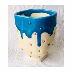 Spotty, Drippy Yunomi Tea Mug