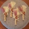 Bohemian Wedding buttonholes