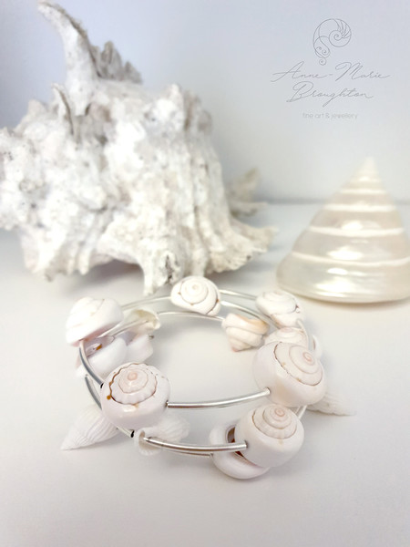 Shell Wrap Bracelet
