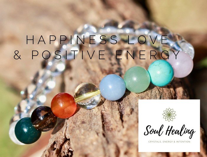Crystals For Happiness, Love and Positive Energy Gemstone