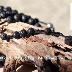 Five Decade Catholic Rosary, Volcanic Lava Prayer Beads.