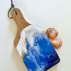 WOODEN AND RESIN MINI SERVING BOARD