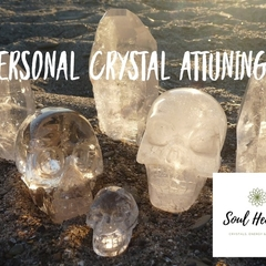 Personal Crystal Attuning, Reiki.