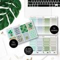 Indoor Plants Weekly Kit Planner Stickers Vertical for the Erin Condren - KIT001