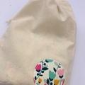Tulip Bandana Bib and Burp Cloth Set