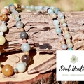 Rainbow Amazonite Gemstone Necklace.