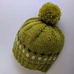 Snug and cute woolly hat for 0-3 months.