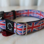 Hairy Britain Collar for larger dogs