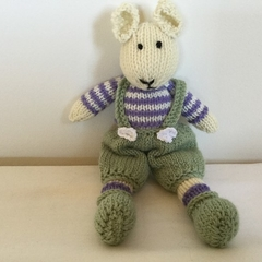 Little Mouse —crocheted, knitted, softies