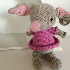 Bilby - crocheted, knitted, softies