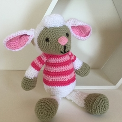 Lexie Lamb -   crocheted, knitted, softies
