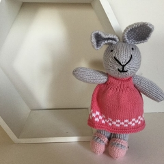 Little Rabbit —crocheted, knitted, softies