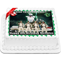 Ghost Busters Edible Cake Topper Icing Image