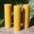 Beeswax Candle, Pure Beeswax Pillar Candle, Classic Design 16cmx5cm