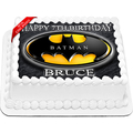 Batman Edible Cake Topper Icing Image