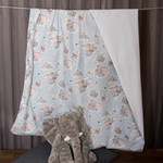 Baby blanket ~ Cotton and Minky ~ Dumbo
