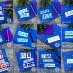Medium Name Label Vinyl Sticker Decal   Lunch Box Drink Bottle Cup