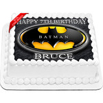 Batman Edible Cake Topper Icing Image