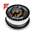 Jurassic World Dinosaur Edible Icing Image Cake Topper