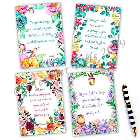 Buddha Quotations Card Set